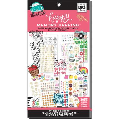 me & my BIG ideas The Happy Planner Value Pack Sticker - Dates & Holidays