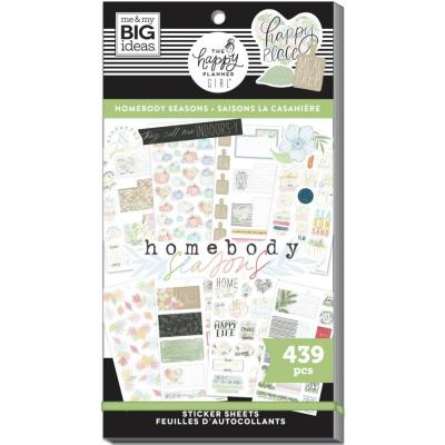 me & my BIG ideas The Happy Planner Value Pack Sticker - Homebody Seasonal