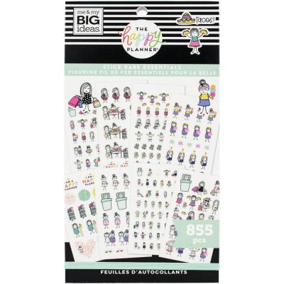 me & my BIG ideas The Happy Planner Value Pack Sticker - Stick Babe Essentials
