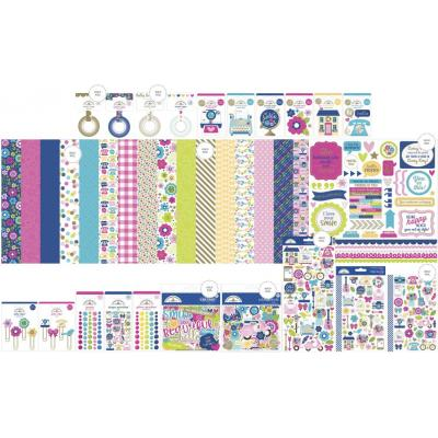 Doodlebug Hello Designpapier - Collection Value Bundle