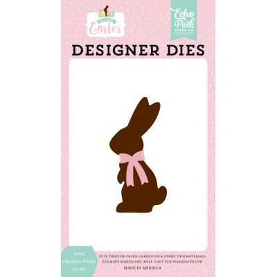 Echo Park Welcome Easter Die Set - Tasty Chocolate Bunny