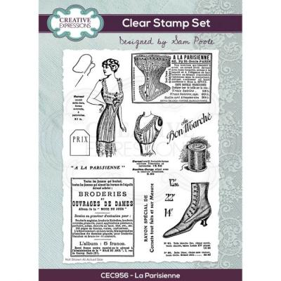 Creative Expressions Clear Stamps -