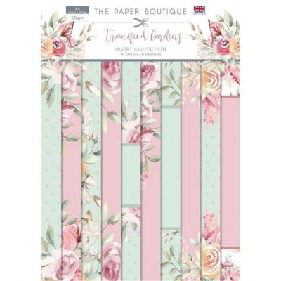Paper Boutique Tranquil Gardens Designpapier - Insert Collection