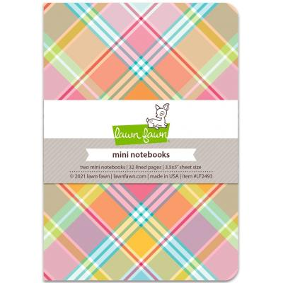 Lawn Fawn Mini Notebooks - Perfectly Plaid Remix