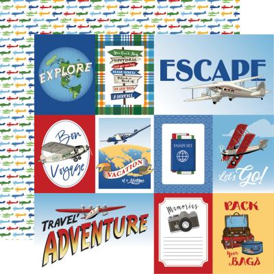 Carta Bella Our Travel Adventure Designpapier - Multi Journaling Cards