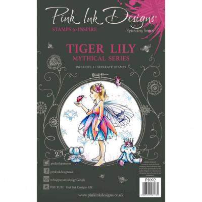 Creative Expressions Pink Ink Designs Clear Stamps - Tiger Lily