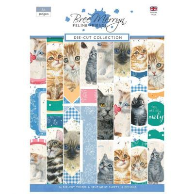 Creative Expressions Bree Merryn Feline Friends Die Cuts - Collection