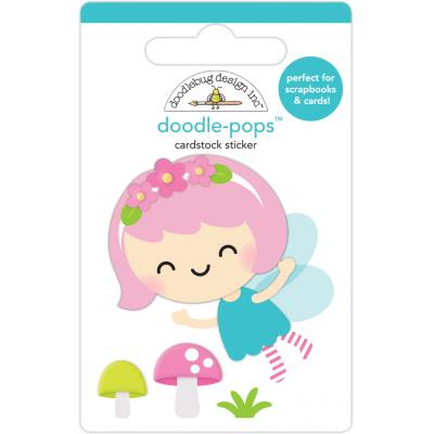 Doodlebug Fairy Garden Sticker - Pixie