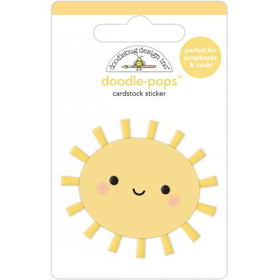 Doodlebug Fairy Garden Sticker - Sunshiny Day