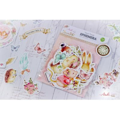 Asuka Studio Memory Place Forest Friends Die Cuts - Ephemera