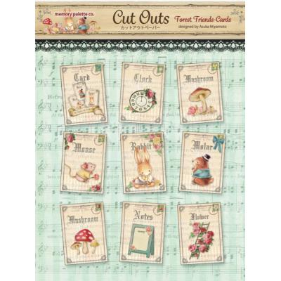 Asuka Studio Memory Place Forest Friends Die Cuts - Cards
