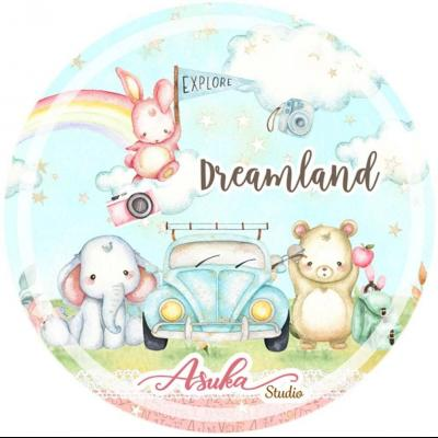 Asuka Studio Memory Place Dreamland - Washi Tape