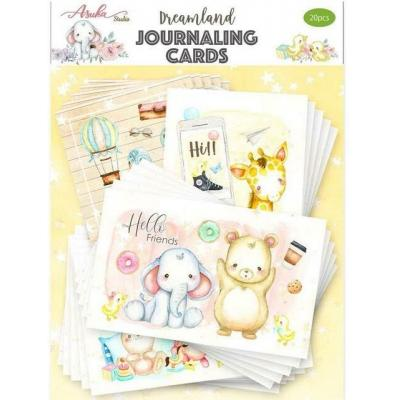 Asuka Studio Memory Place Dreamland - Journaling Cards