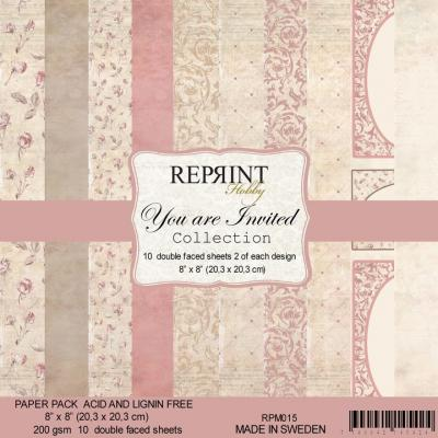 Reprint You Are Invited Collection Designpapier - Paper Pack