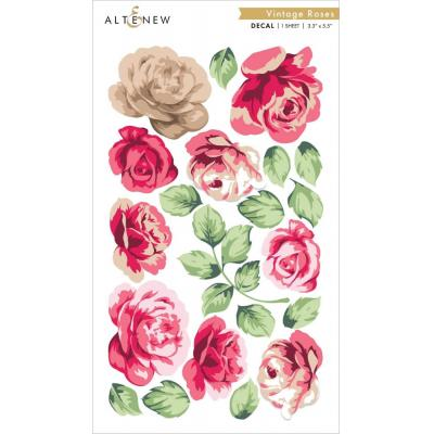Altenew Abziehbilder - Vintage Roses Decal Set
