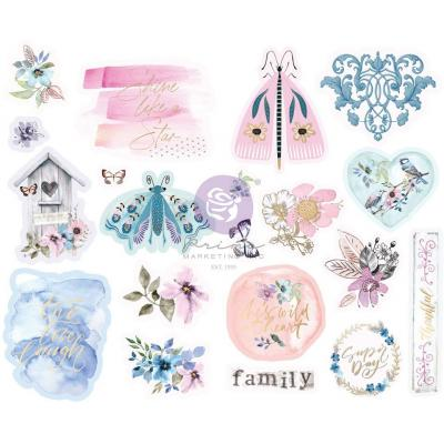 Prima Marketing Watercolor Floral Sticker -