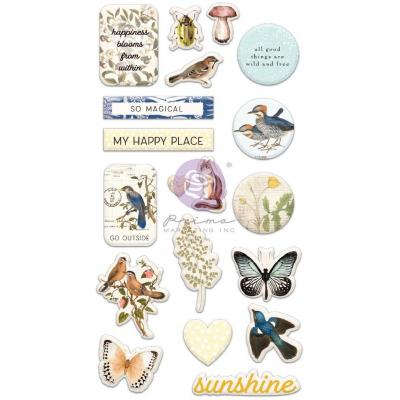Prima Marketing Nature Lover Sticker - Puffy Stickers