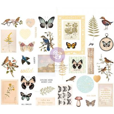 Prima Marketing Nature Lover Sticker - Chipboard Stickers