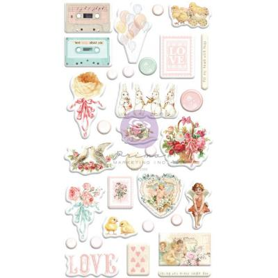 Prima Marketing Magic Love Sticker - Puffy Stickers