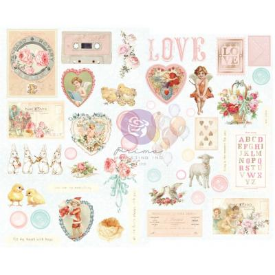 Prima Marketing Magic Love Sticker - Chipboard Stickers