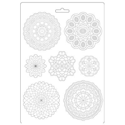 Stamperia Soft Mould - Round Lace