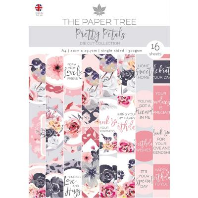 Creative Expressions Pretty Petals Die Cuts - Collection