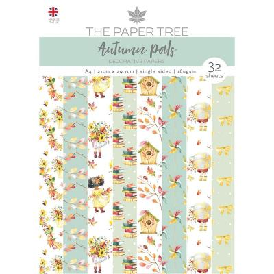 Creative Expressions Autumn Pals Designpapier - Backing Papers