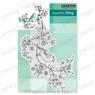 Penny Black Cling Stamp - Bird's-Eye View