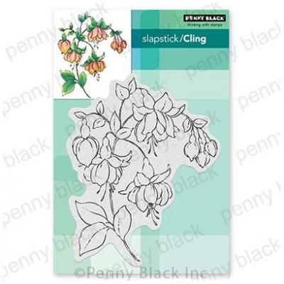 Penny Black Cling Stamp - Captivating