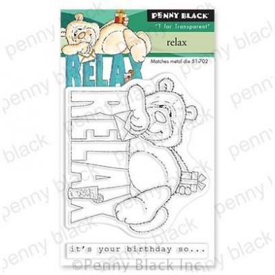 Penny Black Clear Stamps - Relax