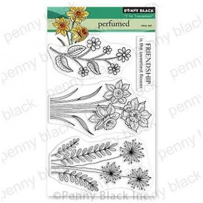 Penny Black Clear Stamps - Perfumed