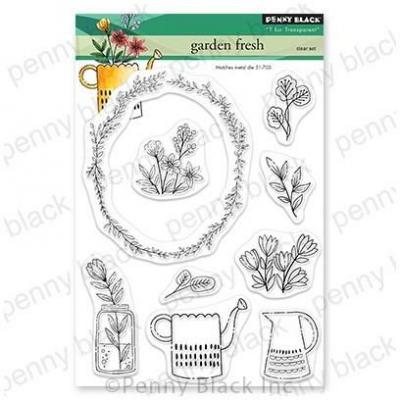 Penny Black Clear Stamps - Garden Fresh