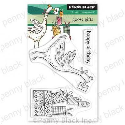 Penny Black Clear Stamps - Goose Gifts