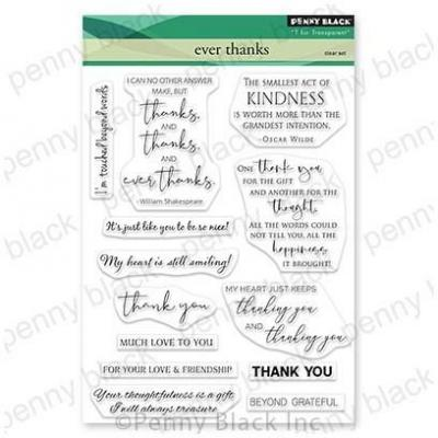 Penny Black Clear Stamps - Ever Thanks
