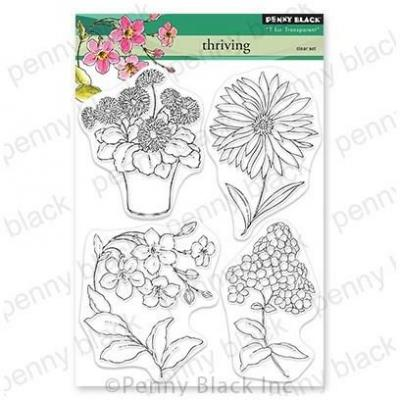 Penny Black Clear Stamps - Thriving