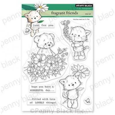 Penny Black Clear Stamps - Fragrant Friends