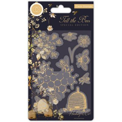Craft Consortium Tell the Bees Special Edition Clear Stamps - Animals