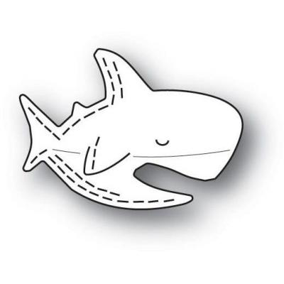 Poppystamps Metal Dies - Whittle Shark