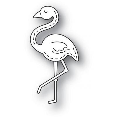 Poppystamps Metal Dies - Whittle Flamingo