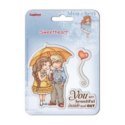 ScrapBerrys Clear Stamps - Sweetheart