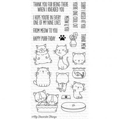 My Favorite Things Clear Stamps - Cool Cat