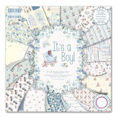 8x8'' Paper Pad It's a Boy