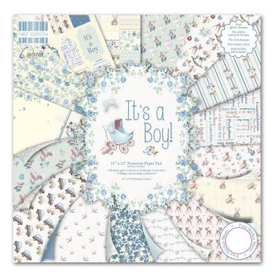 12x12'' Paper Pad It's a Boy