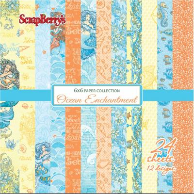 ScrapBerry's Ocean Enchantment 6x6'' Paper Pack