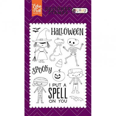 Echo Park Clear Stamps - Halloween Kostüme