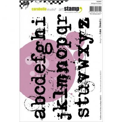 kleinbuchstaben carabelle stamp 15x20cm en minuscule