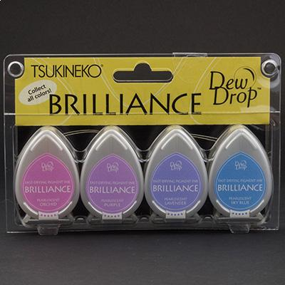 4 Brilliance Dew Drop Stempelkissen Jewel Tone
