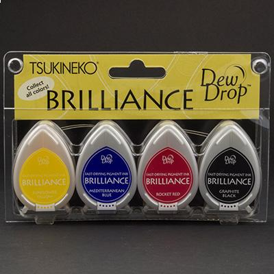 4 Brilliance Dew Drop Stempelkissen Basics
