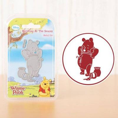 Disney Winnie the Pooh Stanzschablone - Bursting At The Seams