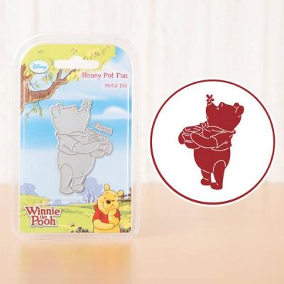 Disney Winnie the Pooh Stanzschablone - Honey Pot Fun